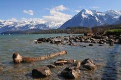 jeziorny thun Zdjęcia Royalty Free