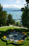 jeziorny thun Obraz Royalty Free