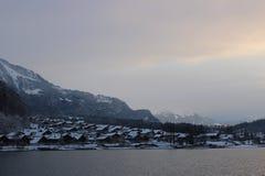 Jeziorny Thun Obrazy Royalty Free