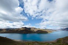 jeziorny Tibet yamdrok yumtso Zdjęcia Stock
