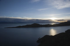 Jeziorny Titicaca Zdjęcie Royalty Free