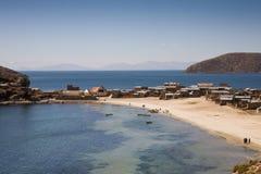 jeziorny titicaca Zdjęcia Royalty Free