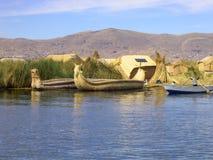 jeziorny titicaca Obrazy Royalty Free