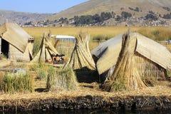 Jeziorny Titicaca b obrazy stock