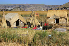 Jeziorny Titicaca c obrazy stock