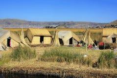 Jeziorny Titicaca d fotografia stock
