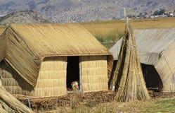 Jeziorny Titicaca e zdjęcia royalty free