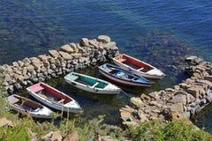 Jeziorny Titicaca g zdjęcia royalty free