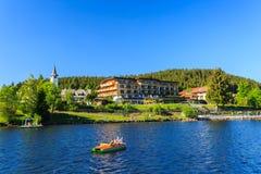 Jeziorny Titisee Neustadt w Czarnym lesie Obraz Royalty Free