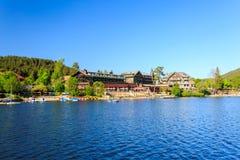 Jeziorny Titisee Neustadt w Czarnym lesie Zdjęcie Royalty Free
