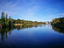Jeziorny Torrens jest normalnie efemerycznym słonym jeziorem w środkowym Południowym Australia obraz stock