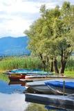 jeziorny Varese Fotografia Royalty Free