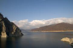 jeziorny vidraru Obraz Stock