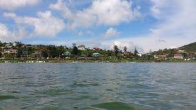 Jeziorny w połowie kraj w Srilanka zdjęcie royalty free