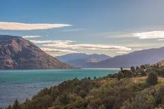 Jeziorny Wakatipu Zdjęcia Stock