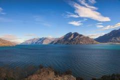 Jeziorny Wakatipu Zdjęcie Stock