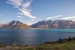 Jeziorny Wakatipu Fotografia Royalty Free
