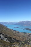 Jeziorny Wakatipu, Nowa Zelandia Obraz Royalty Free