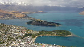 Jeziorny Wakatipu Queenstown Obraz Royalty Free