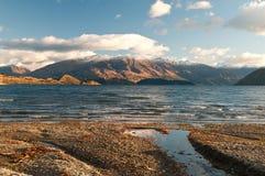 Jeziorny wanaka Zdjęcia Royalty Free