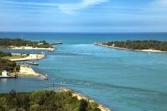 Jeziorny wejście w Australia Fotografia Stock