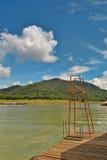 Jeziorny widok Obraz Stock