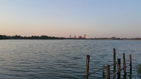 Jeziorny widok zdjęcie stock