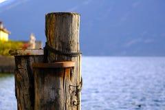 Jeziorny widok, pokój i zaciszność, zdjęcia royalty free