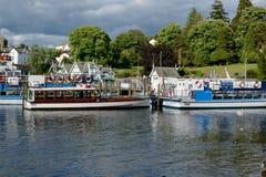 Jeziorny Windermere Fotografia Stock