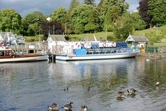 Jeziorny Windermere Zdjęcie Royalty Free
