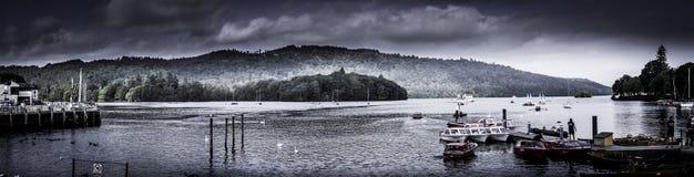 Jeziorny Windermere Zdjęcia Royalty Free