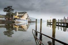 Jeziorny Windermere Angielski Jeziorny Gromadzki Cumbria Obrazy Royalty Free