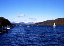 Jeziorny Windermere, Cumbria Zdjęcia Stock