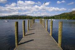 Jeziorny Windermere Jetty Zdjęcia Stock