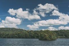 Jeziorny Windermere, widok od na Fotografia Stock