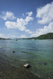 Jeziorny Windermere, widok od na Fotografia Royalty Free