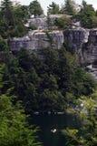 jeziorny wioślarza mohonk usa Fotografia Stock