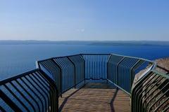 Jeziorny Wyższy punkt obserwacyjny Zdjęcie Stock