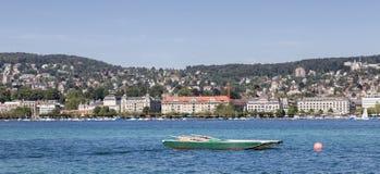 jeziorny Zurich Obrazy Stock