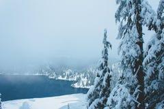 jezioro śnieżny Washington obraz royalty free