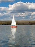 jezioro żeglując Fotografia Royalty Free