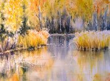 Jezioro ilustracja wektor