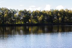 Jezioro Zdjęcie Royalty Free