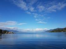 Jezioro fotografia stock