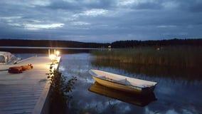 Jezioro 01 Zdjęcie Royalty Free
