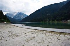 Jezioro Auronzo, Włochy obrazy stock