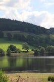 Jezioro blisko Pately mosta North Yorkshire fotografia royalty free