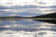 jezioro cicho Obraz Royalty Free