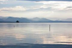 jezioro cicho Obrazy Royalty Free