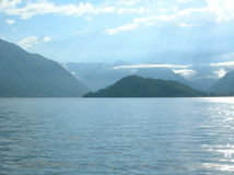 jezioro como Zdjęcie Stock